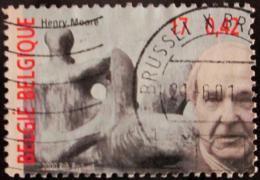 Poštovní známka Belgie 2000 Henry Moore Mi# 3012