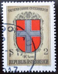 Poštovní známka Rakousko 1976 Erb Vídnì Mi# 1530