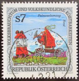 Poštovní známka Rakousko 1998 Folklór Mi# 2249