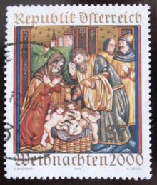 Poštovní známka Rakousko 2000 Vánoce Mi# 2334