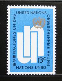 Poštovní známka OSN New York 1969 Iniciály OSN Mi# 212