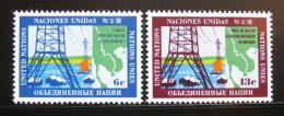 Poštovní známky OSN New York 1970 Øeka Mekong Mi# 222-23