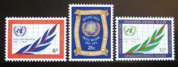 Poštovní známky OSN New York 1970 Symboly Mi# 226-28