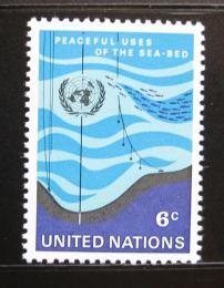 Poštovní známka OSN New York 1971 Moøe Mi# 231