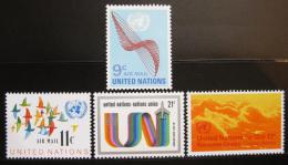 Poštovní známky OSN New York 1972 Letecké Mi# 245-48