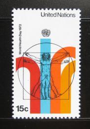 Poštovní známka OSN New York 1972 Svìtový den zdraví Mi# 244