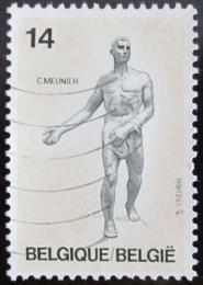 Poštovní známka Belgie 1991 Socha,Constantin Meunier Mi# 2452
