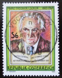 Poštovní známka Rakousko 1994 Franz T. Csokor Mi# 2136