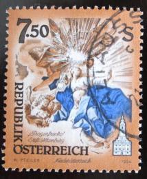 Poštovní známka Rakousko 1994 Umìlecká díla, kostely Mi# 2124