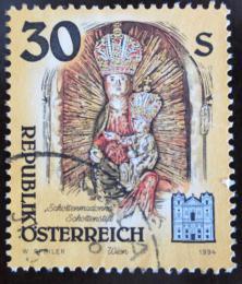 Poštovní známka Rakousko 1994 Umìlecká díla, kostely Mi# 2139