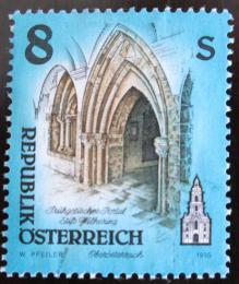 Poštovní známka Rakousko 1995 Umìlecká díla, kostely Mi# 2169