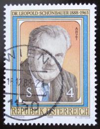 Poštovní známka Rakousko 1988 Leopold Schonbauer, lékaø Mi# 1941