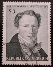 Poštovní známka Rakousko 1965 F. G. Waldmuller, malíø Mi# 1193