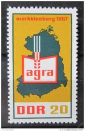 Poštovní známka DDR 1967 Zemìdìlská výstava AGRA Mi# 1292