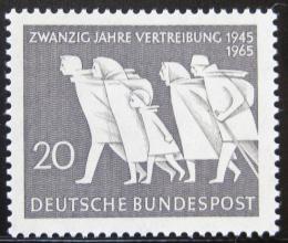 Poštovní známka Nìmecko 1965 Výroèí nìmeckého vyhoštìní Mi# 479