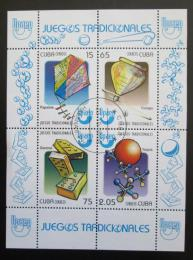 Poštovní známky Kuba 2009 Tradièní hry Mi# Block 268 - zvìtšit obrázek