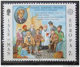 Poštovní známka Ostrov Man 1980 Evropa CEPT Mi# 164