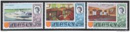 Poštovní známky Jersey 1970 Rùzné motivy Mi# 46-48