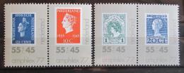 Poštovní známky Nizozemí 1977 Výstava AMPHILEX Mi# 1101-04