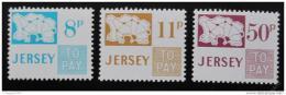 Poštovní známky Jersey 1975 Doplatní Mi# 18-20