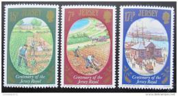 Poštovní známky Jersey 1980 Pìstování brambor Mi# 216-18