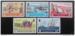 Poštovní známky Jersey 1983 Svìtový rok komunikace Mi# 303-07