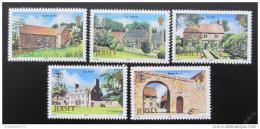 Poštovní známky Jersey 1986 Architektura Mi# 381-85