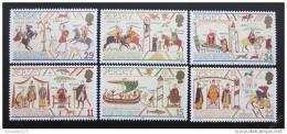 Poštovní známky Jersey 1987 Gobelíny Mi# 414-19