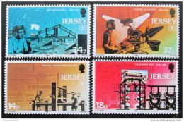 Poštovní známky Jersey 1990 Rok gramotnosti Mi# 520-23