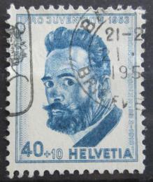 Poštovní známka Švýcarsko 1953 Ferdinand Hodler, malíø Mi# 592 Kat 12€