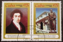 Poštovní známky Kuba 1999 Simón Bolívar Mi# 4196-97