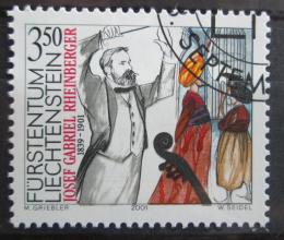 Poštovní známka Lichtenštejnsko 2001 Rheinberger Mi# 1274 Kat 8€