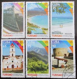 Poštovní známky Kuba 2010 Turistické atrakce Mi# 5393-98 - zvìtšit obrázek