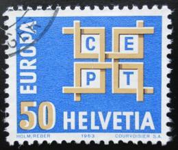 Poštovní známka Švýcarsko 1963 Evropa CEPT Mi# 781