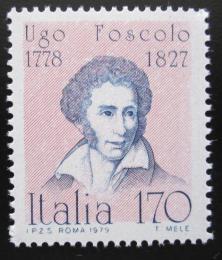 Poštovní známka Itálie 1979 Ugo Foscolo Mi# 1654