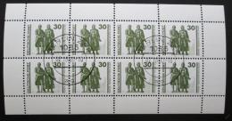 Poštovní známky DDR 1990 Památník Mi# 3345