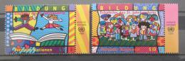 Poštovní známky OSN Vídeò 1999 Vzdìlávání Mi# 300-01