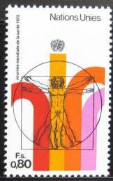 Poštovní známka OSN Ženeva 1972 Svìtový den zdraví Mi# 24