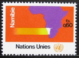 Poštovní známka OSN Ženeva 1973 Program pro Namíbii Mi# 34