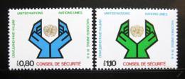Poštovní známky OSN Ženeva 1977 Rada bezpeènosti Mi# 66-67