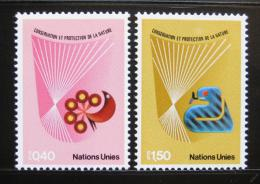 Poštovní známky OSN Ženeva 1982 Ochrana pøírody Mi# 109-10