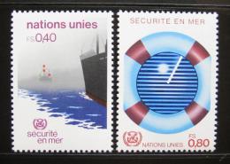 Poštovní známky OSN Ženeva 1983 Bezpeènost na moøi Mi# 112-13