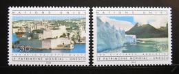Poštovní známky OSN Ženeva 1984 Dìdictví UNESCO Mi# 122-23