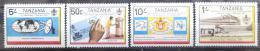 Poštovní známky Tanzánie 1983 Pošta Mi# 217-20