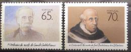 Poštovní známky Portugalsko 1990 Spisovatelé Mi# 1829-30