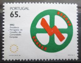 Poštovní známka Portugalsko 1992 Pøedsednictví v EU Mi# 1894