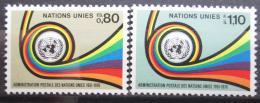 Poštovní známky OSN Ženeva 1976 UNPA, 25. výroèí Mi# 60-61