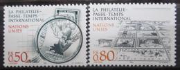Poštovní známky OSN Ženeva 1986 Filatelie Mi# 143-44