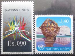 Poštovní známky OSN Ženeva 1987 Palác národù Mi# 152-53