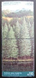 Poštovní známky OSN Ženeva 1988 Les Mi# 165-66 Kat 10€